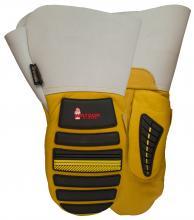 d6ca75bf3c077 Watson Gloves 95783G-XL - Storm Trooper mitt gauntlet, cow/deer grain,