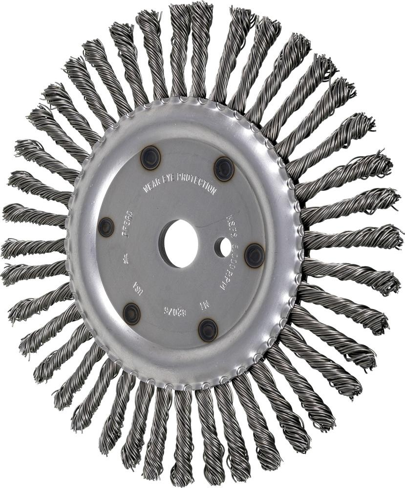 10 Expansion Joint Brush  035 CS Wire, 1 A H  - 3/8 Drive